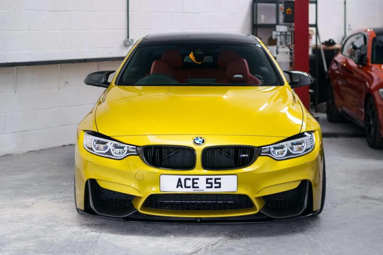 Stage 2 BMW M4 Audtin yellow NVM