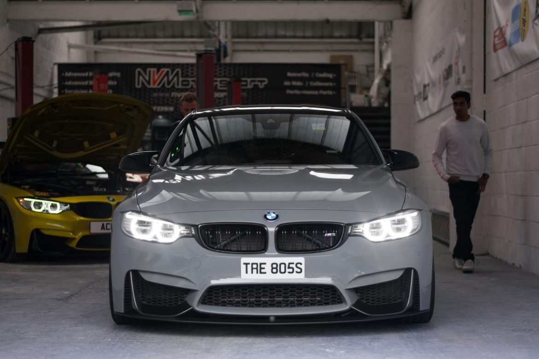 Nardo Grey BMW M4 f80 front