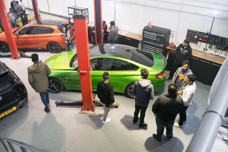 Remus Green M4 at NV Motorsport