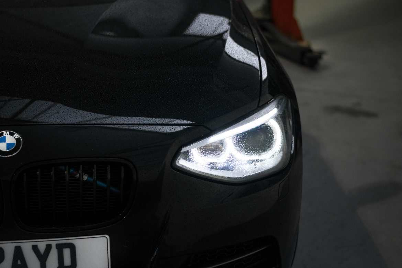 Black BMW M135i NVM