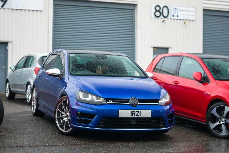 VW MK7 Golf R NVM Hq lapiz blue