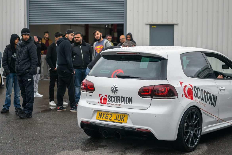 NVM Cars and Coffee Scorpion MK6 Golf R