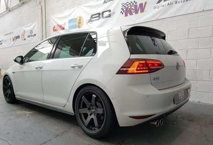 VW Golf MK7 GTD ECU remap