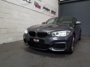 Front M135i Lci in grey at NVM