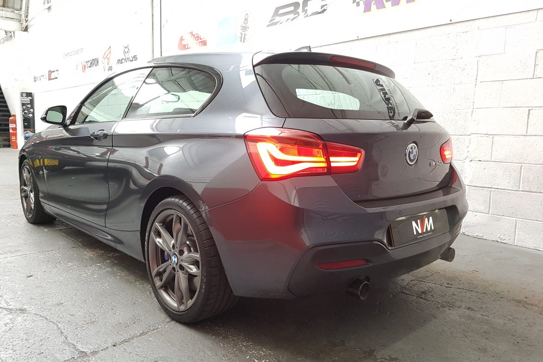 BMW M140i Eibach Lowering and JB4 Install