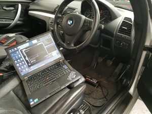 BMW 123d ECU rmepaping