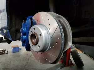 BMW m135i front tarox brake discs