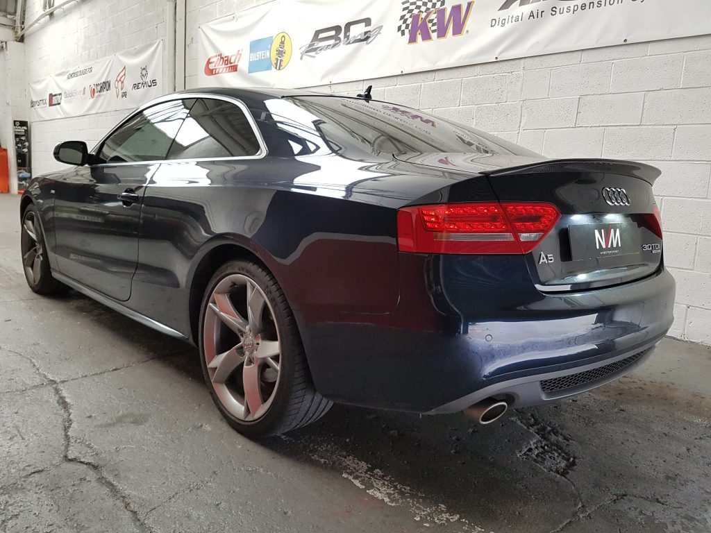 Audi A5 30 Tdi Stage 2 Remap With Fmic And Downpipe Nv Motorsport Uk