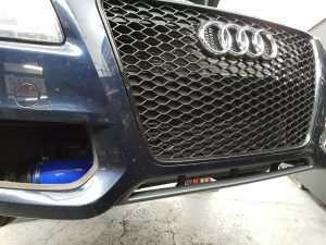 audi a5 3.0 tdi custom fmic bumper on