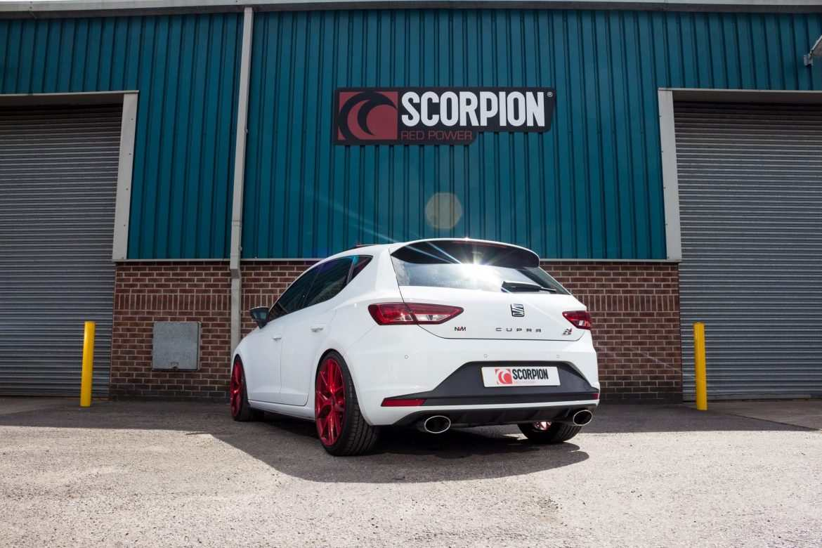 Scorpion Seat Leon Cupra 280-290-300 Exhausts
