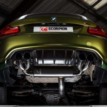 Scorpion BMW M2 Exhaust System