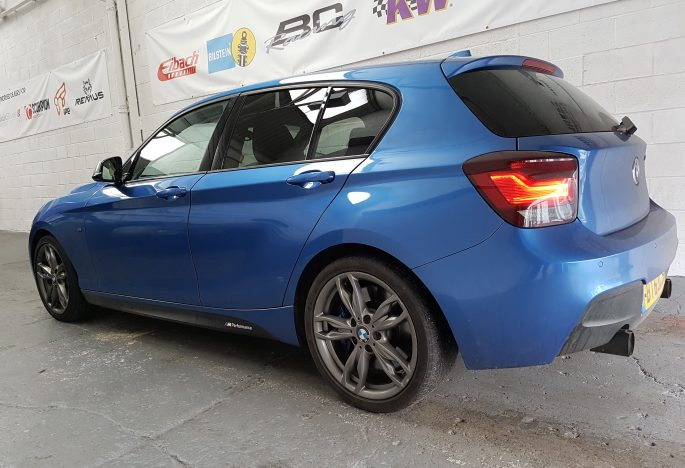 BMW M135i N55 BMS intake fitted