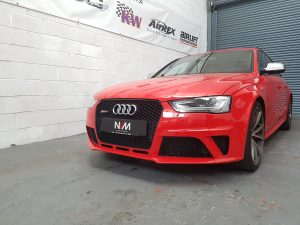 Audi RS4 B8 in for Scorpion Exhuast