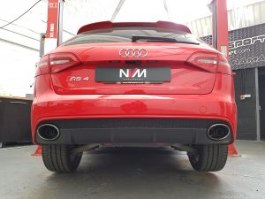 Audi RS4 B8 Scorpion valved exhaust fitted