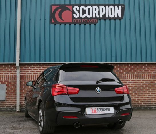 BMW M140i Scorpion Exhaust System Available NOW