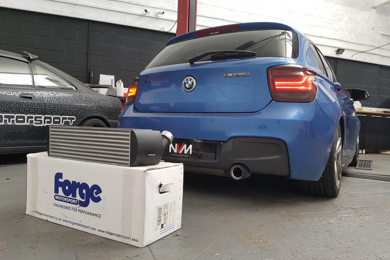 BMW M135i Forge Motorsport Front Mount Intercooler
