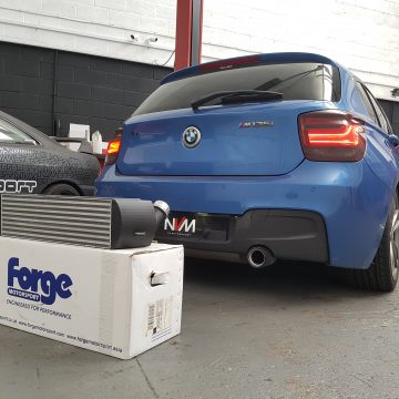 BMW M135i Forge Motorsport Front Mount Intercooler
