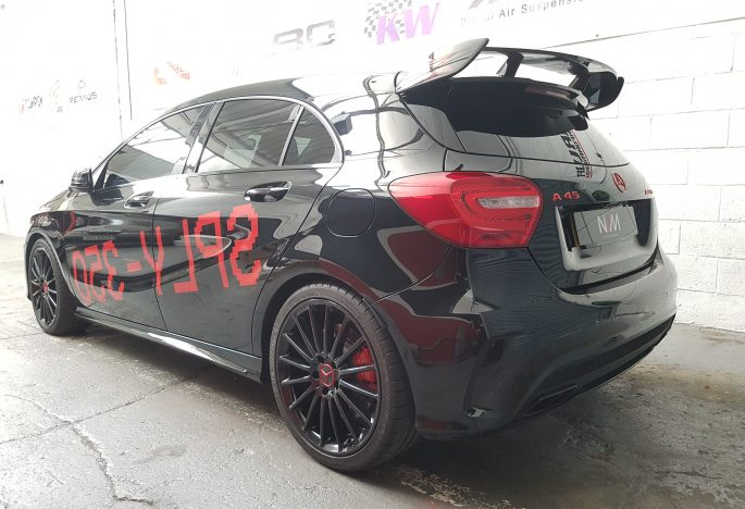 Mercedes A45 AMG Armytrix FULL Exhaust