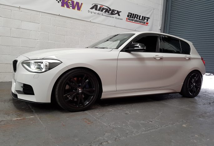 BMW M135i Scorpion Decat