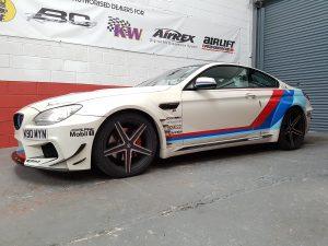 BMW 640i Prior designs at NV Motorsport