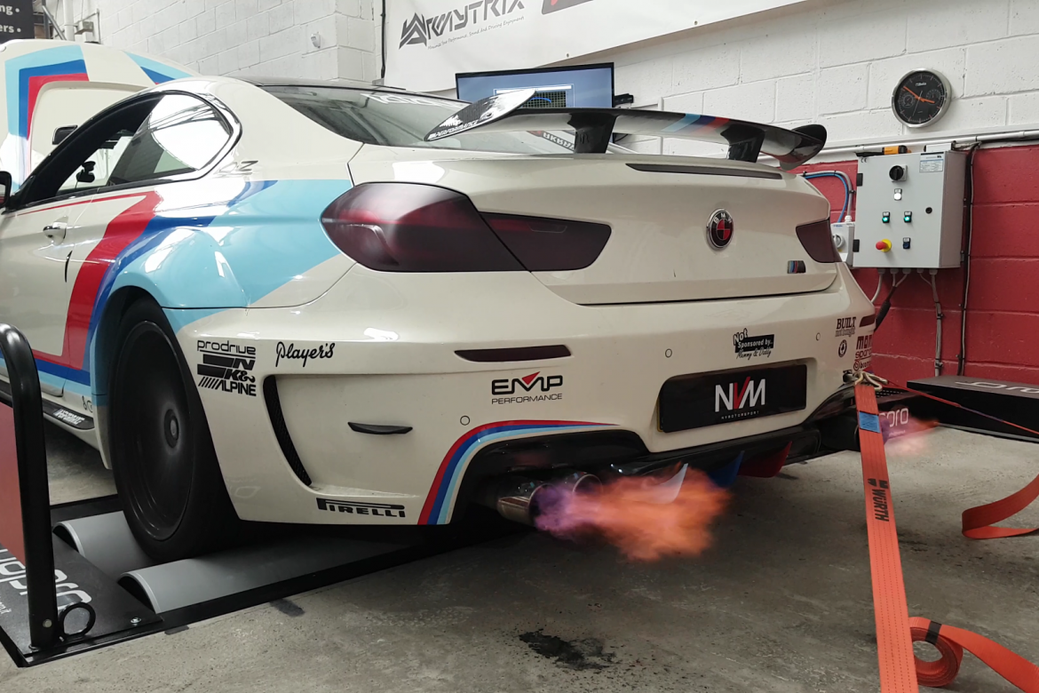 BMW 640i Wagner Intercooler, JB4 and Intake on the Dyno
