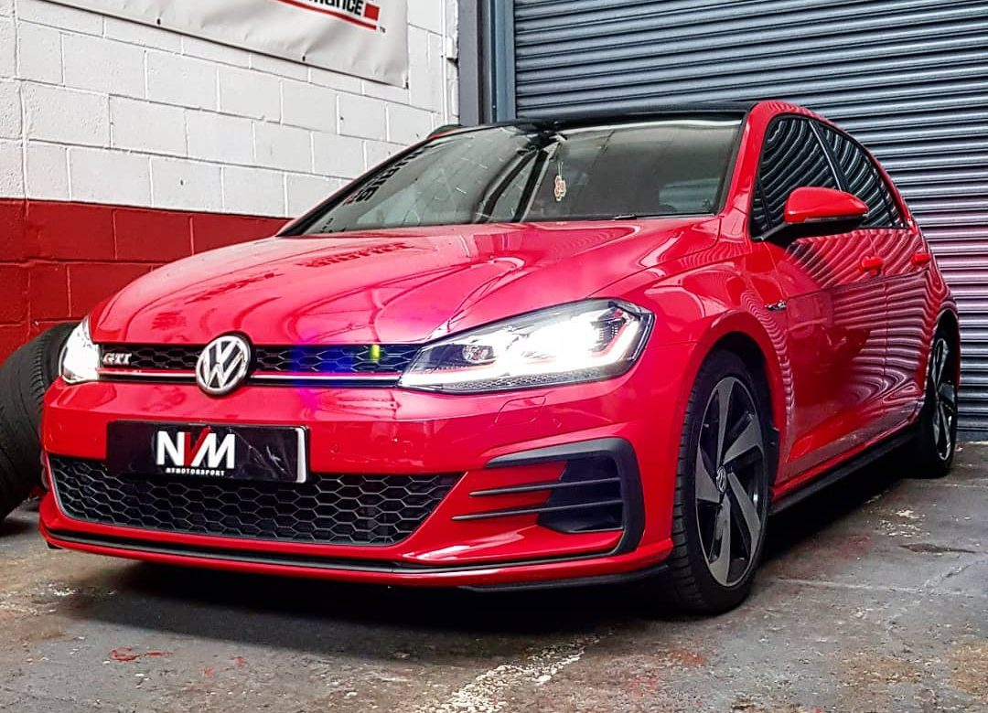 vw golf gti mk7 5 service and stage 1 remap nv motorsport uk